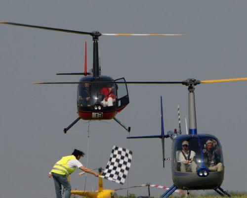 Meisterschaften im Hubschrauberflug